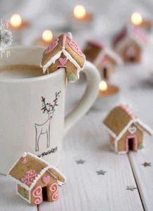 guten morgen weihnachts kaffee
