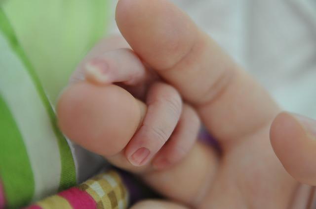 Geburt mit Kaiserschnitt