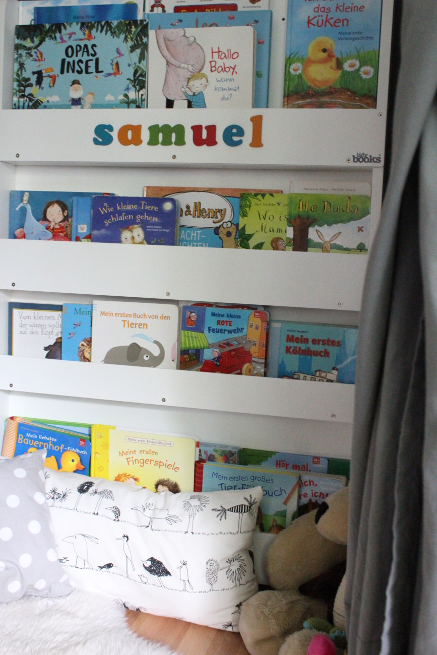 Tidy Books, Bücherregal für Kinder, Kinderzimmer, Mama Blog