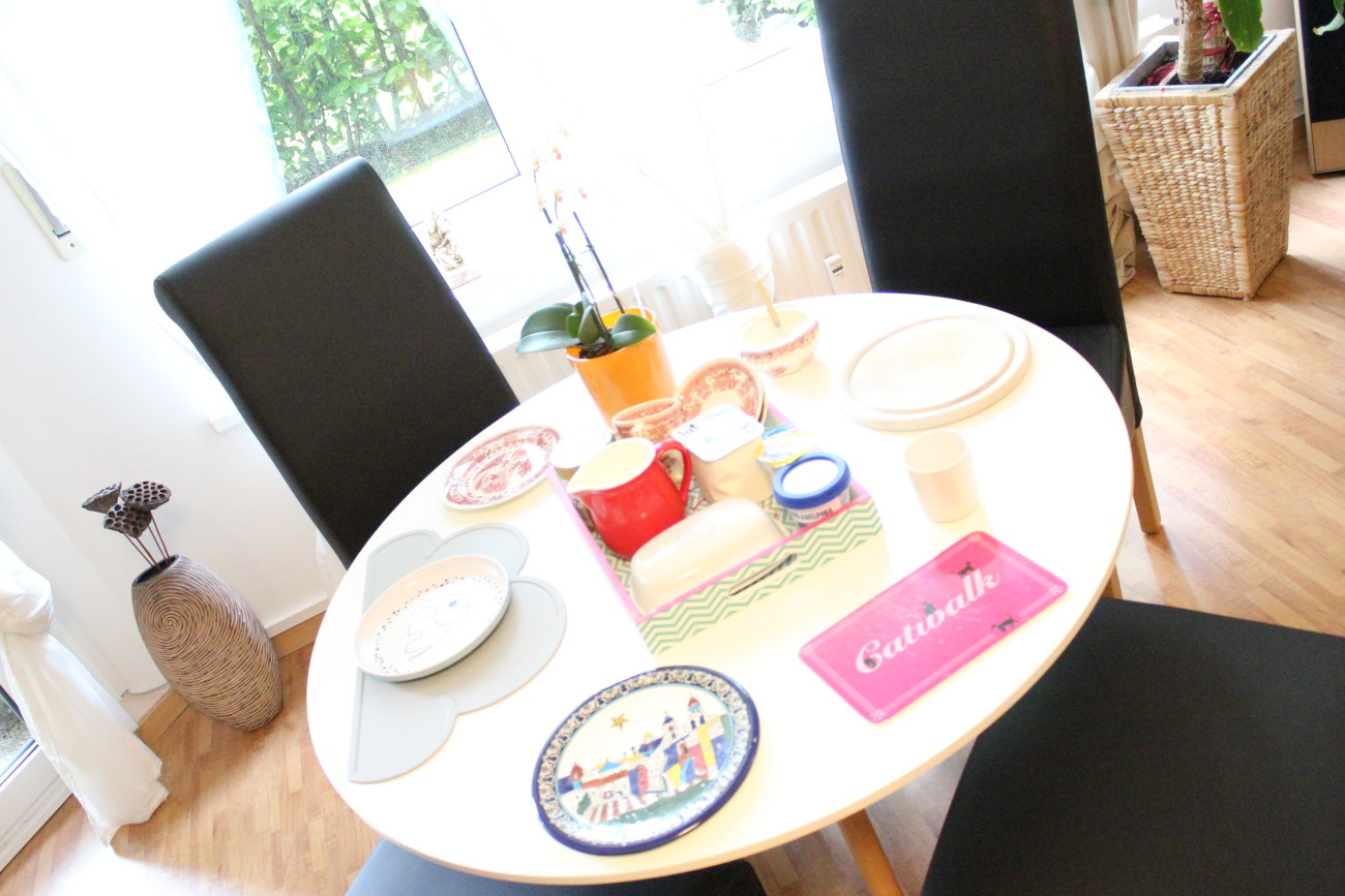guten Morgen, Liebling guten Morgen, Frühstückstisch, Frühstück,