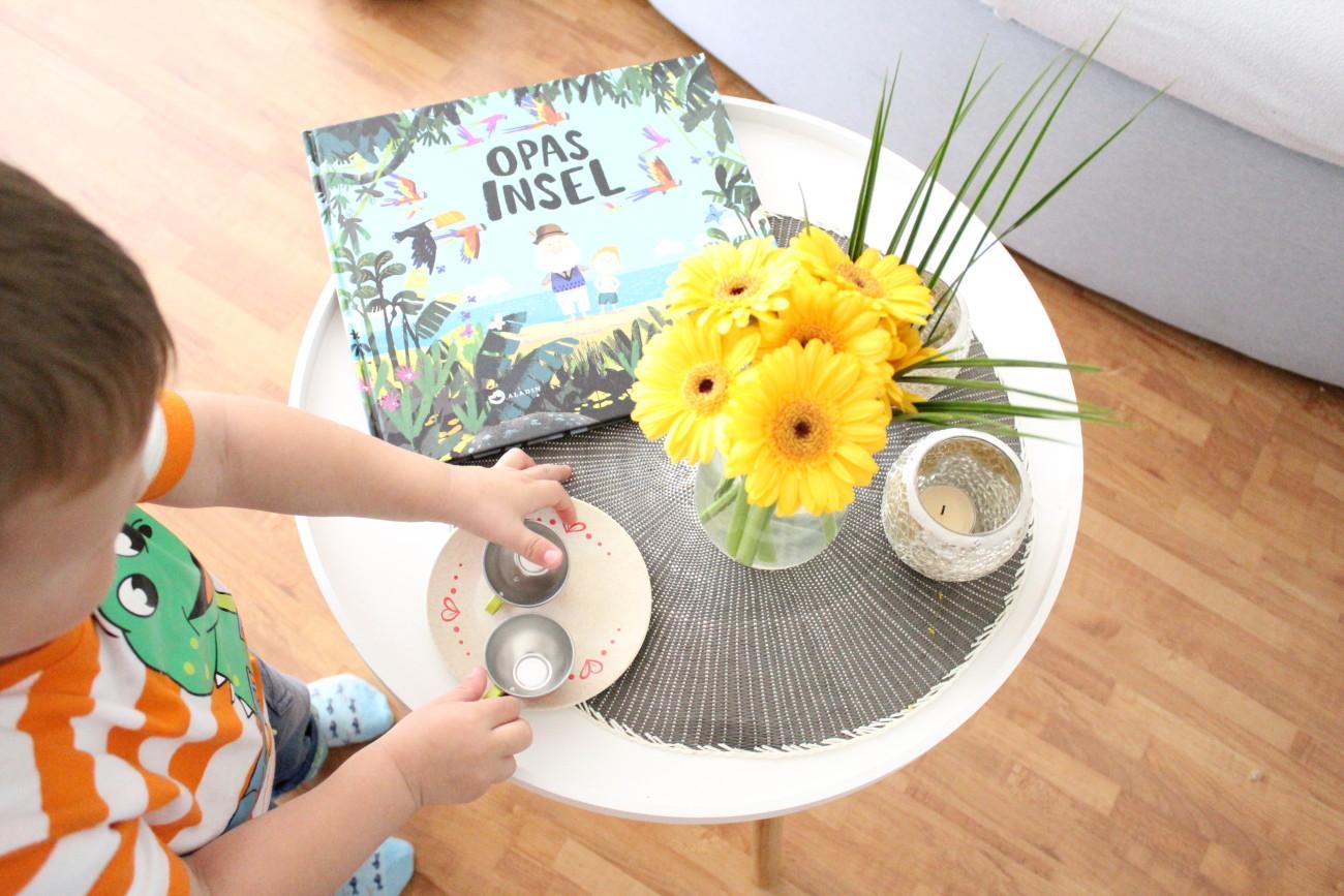 Opas Insel Buch, Kinderbuch, Buch für Kinder, tolles Kinderbuch