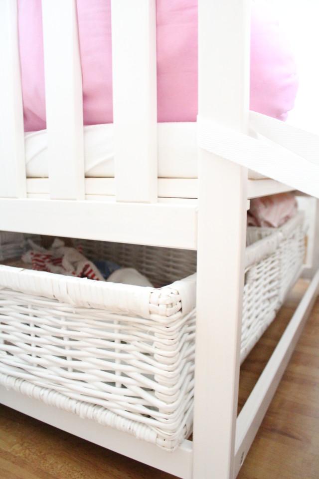 Beistellbett am Elternebett, Baby, schlafen Baby,