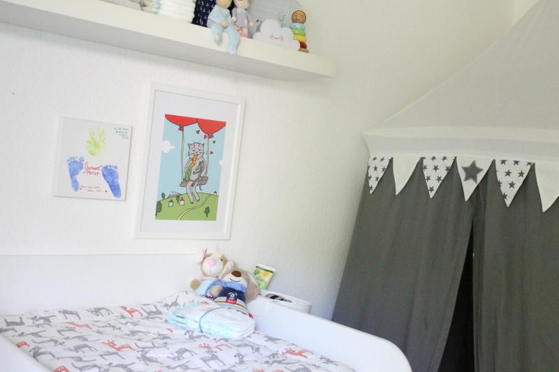 wickeln, wickelkommode, wickelbereich im kinderzimmer