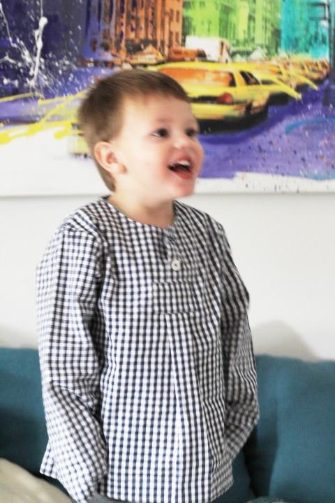 bayrische Kindermode, Mode aus Bayer, Trachtenhemd Junge
