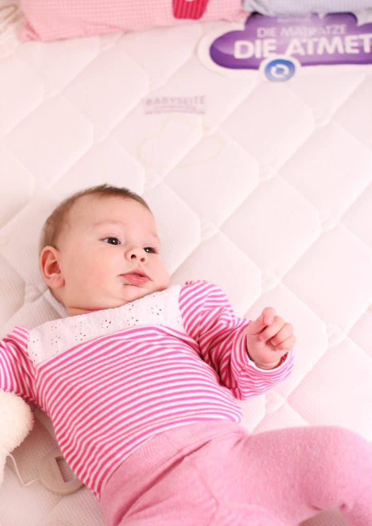Der Schlafplatz für das Babys