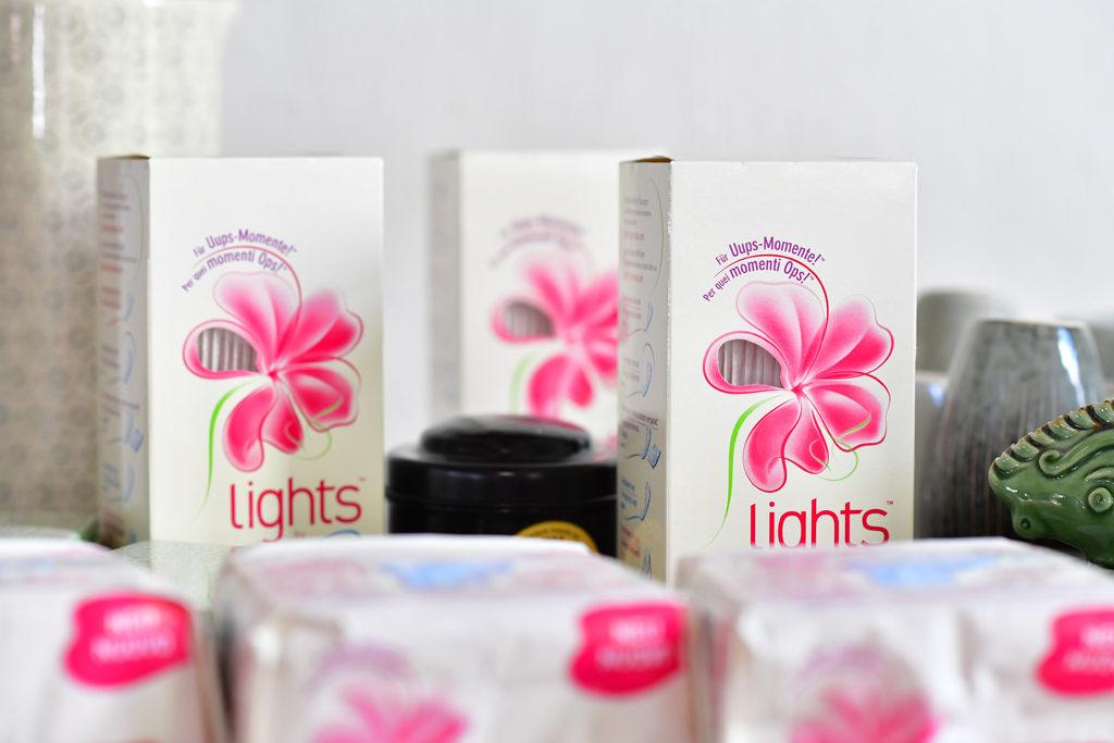 lights by TENA die perfekte Slipeinlage für junge Frauen