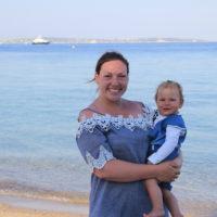 Beliebtes Reiseziel mit kleinen Kindern im Ausland
