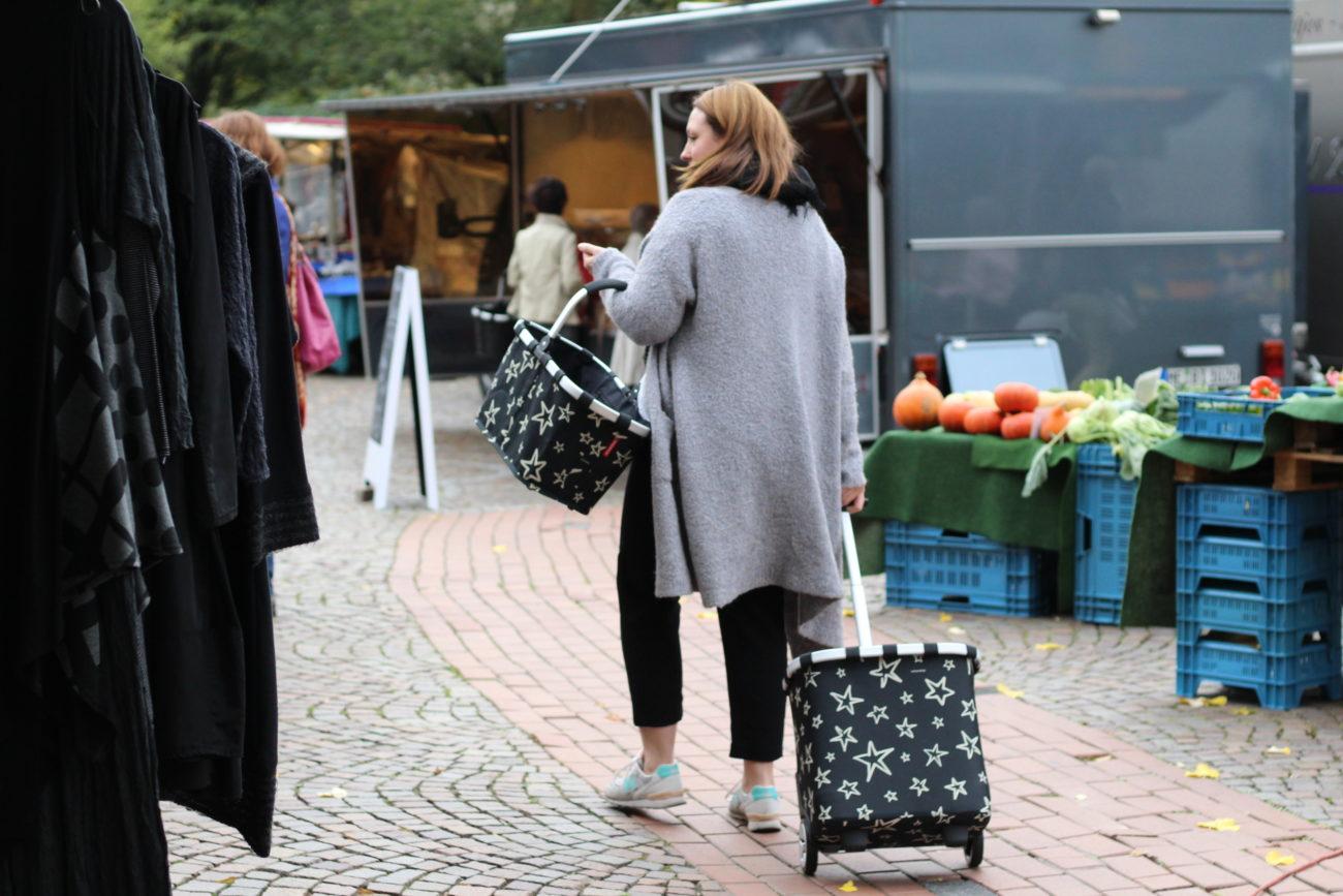 Einkaufen auf dem Wochenmarkt - gute Gründe für das wöchentliche, regionale Treiben