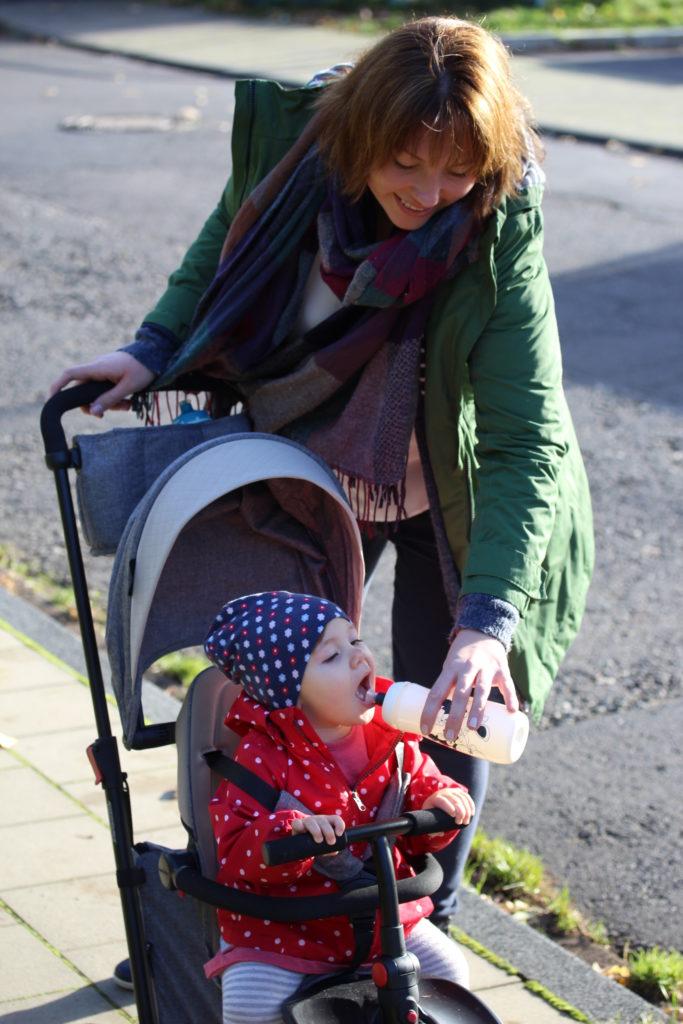 Unterwegs mit Kindern - ein Dreirad zum verlieben