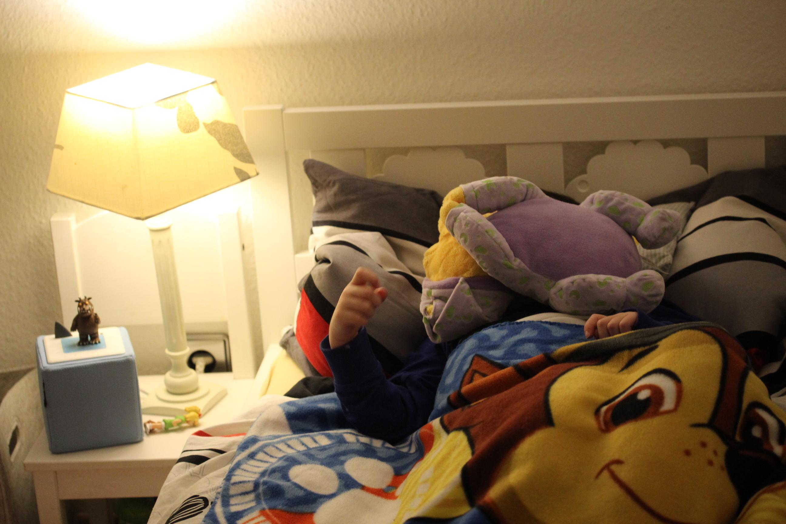 Das Leben mit KIndern - die Einschlafbegleitung
