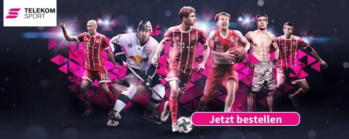 Geschenkidee zum Jahrestag mit Telekom Sportpaket