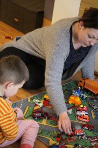 Spielteppich für das Kinderzimmer
