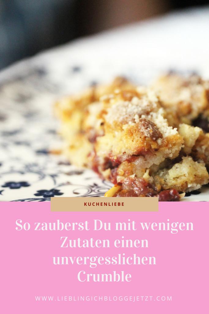 Rezept Kuchen mit wenigen Zutaten Mehl Zucker Kirschen Haselnüsse