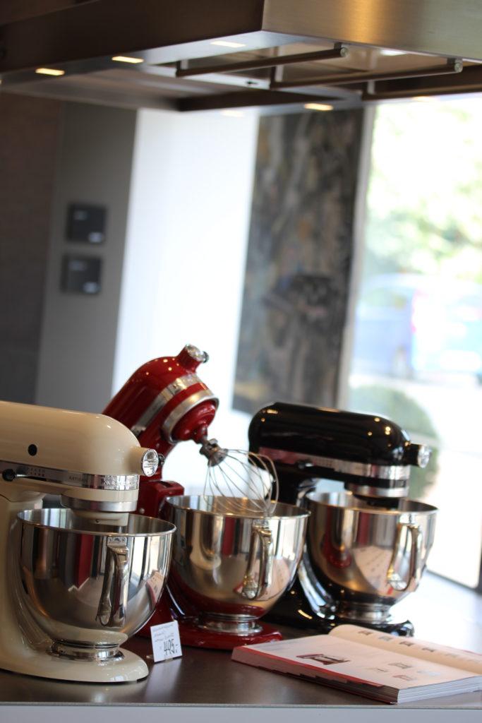 Küchengeräte in der neuen Küche