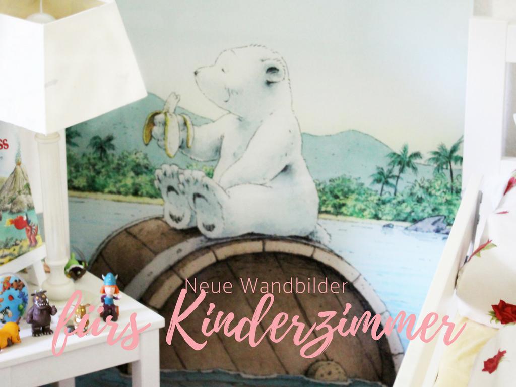 Mit Wandbilder Kinderzimmer neu gestalten