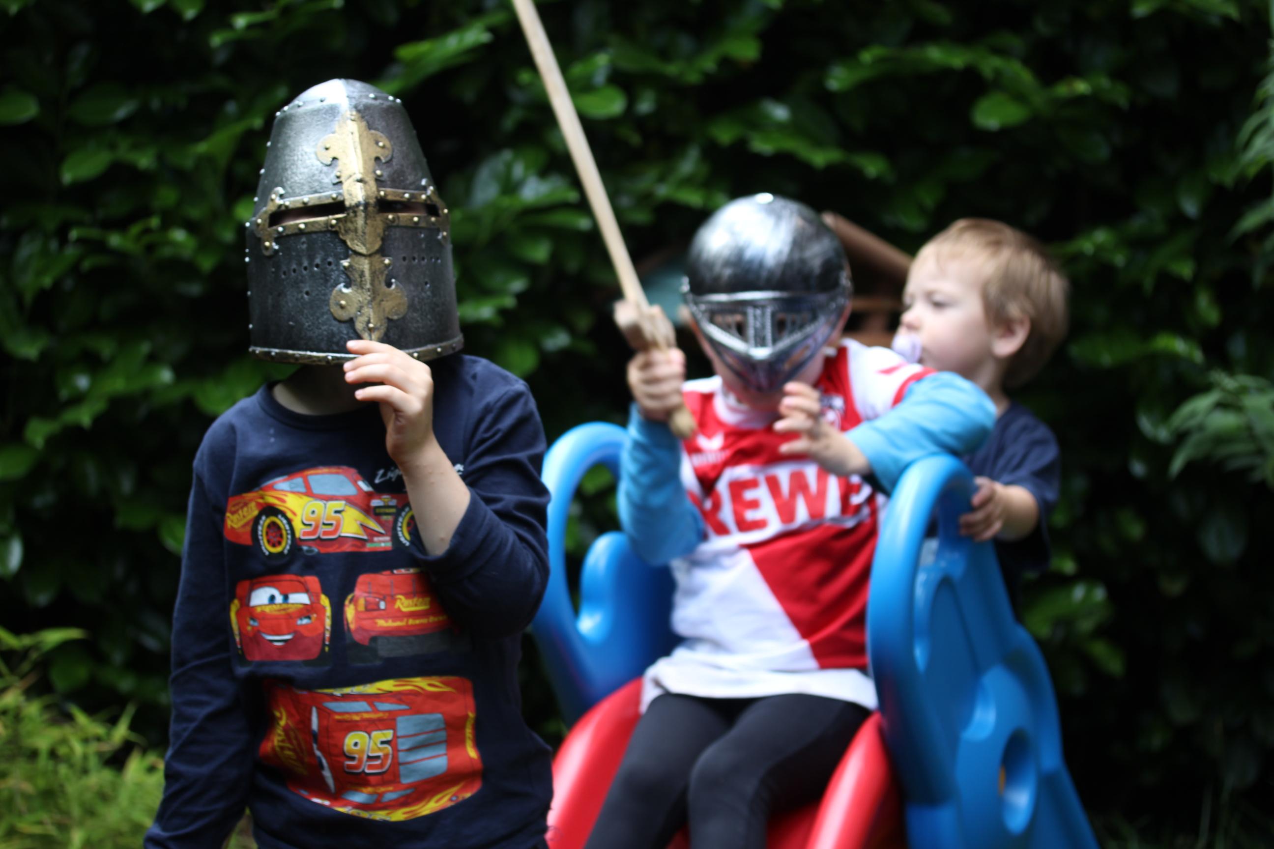 piel und Spaß im Garten mit Kindern