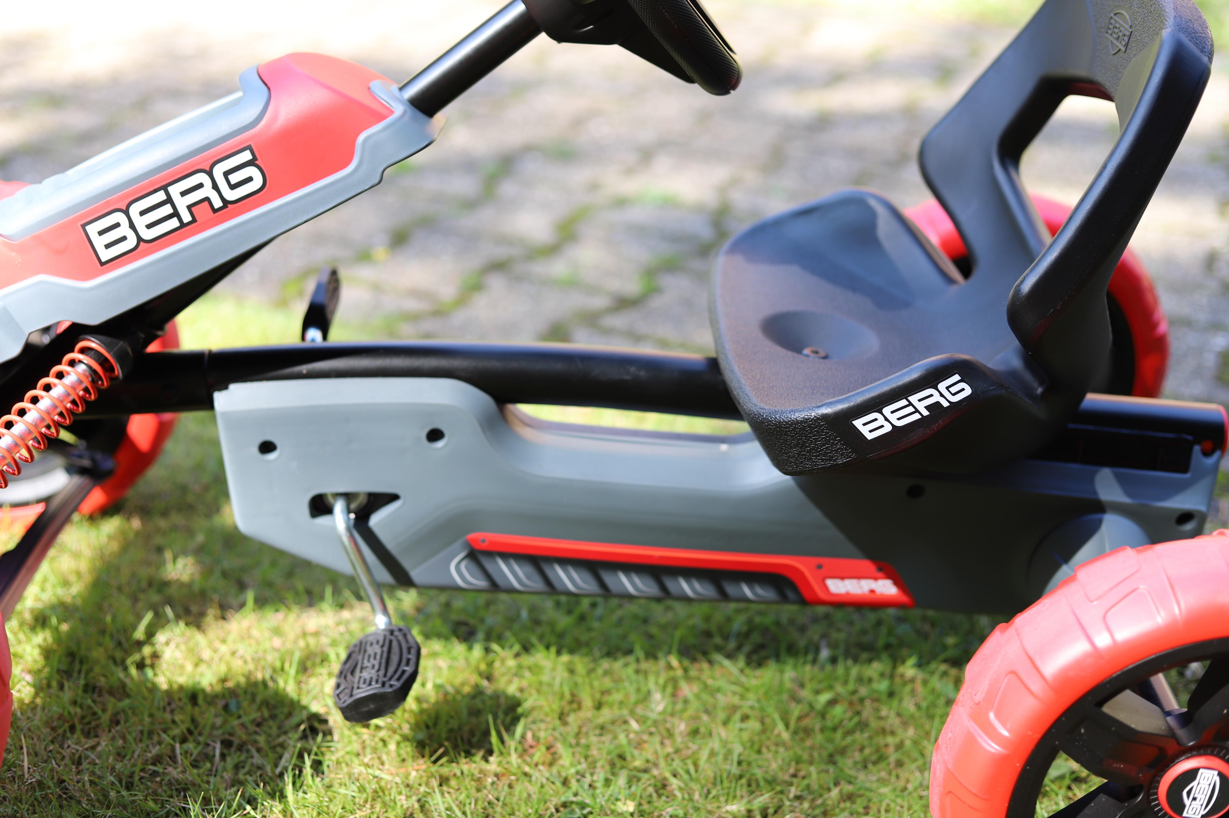 Pedal Gokart von BERG Test